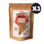 3x Cricket Tortilla Chips - Chilli