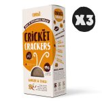 3x Cricket Crackers - Ginger & Chilli